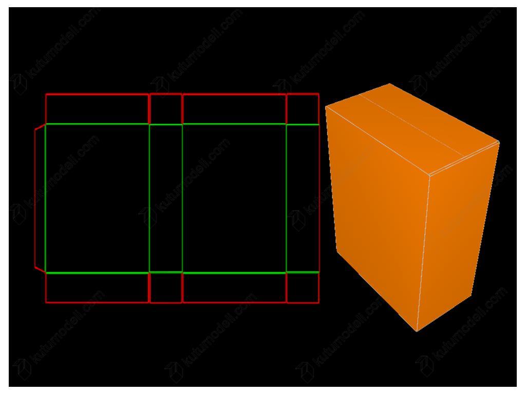 A Box- yarım kapak